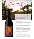 2014 Cherry Pie Huckleberry Snodgrass Pinot Noir