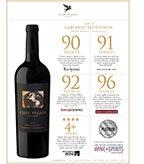 2013 Clos Pegase Cabernet Sauvignon, Accolade Sheet