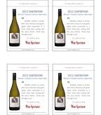 2012 Clos Pegase Chardonnay - Wine Spectator