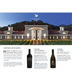 Clos Pegase Sell Sheet Wine Family