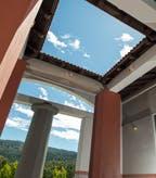 Clos Pegase Portico Skylight