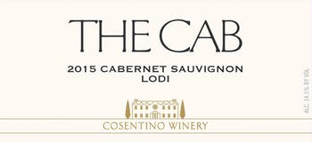 2015 Cosentino The Cab, Lodi