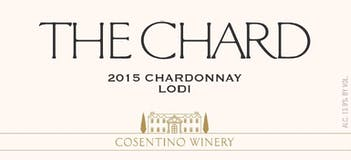 2015 Cosentino The Chard, Lodi