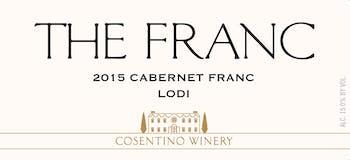 2015 Cosentino The Franc, Lodi