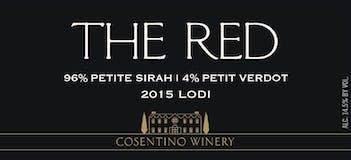 2015 Cosentino The Red, Lodi