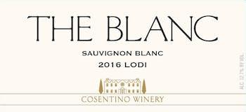 2016 Cosentino The Blanc, Lodi