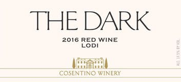 2016 Cosentino The Dark, Lodi