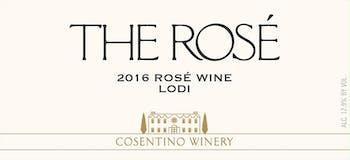 2016 Cosentino The Rose, Lodi