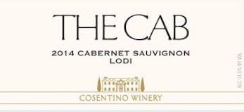 2014 Cosentino The Cab, Lodi