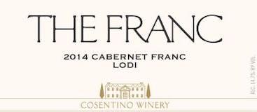 2014 Cosentino The Franc, Lodi
