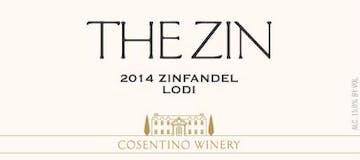 2014 Cosentino The Zin, Lodi