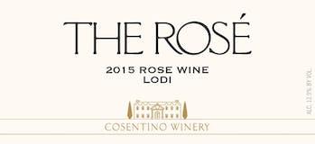 2015 Cosentino The Rose, Lodi