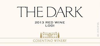 2013 Cosentino The Dark, Lodi
