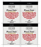 Firesteed Pinot Noir - Shelf Talker