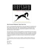 2014 Firesteed Pinot Noir, Willamette Valley