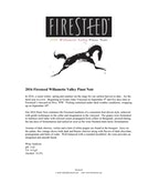 2016 Firesteed Pinot Noir, Willamette Valley