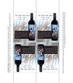 IYSK Red Blend Tasting Notes Shelf Talker 4up