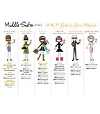 2017 Middle Sister Medals