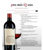 PromisQous Red Table Wine, California