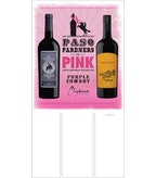 Purple Cowboy Paso Pardners in Pink + Clayhouse - Case Card
