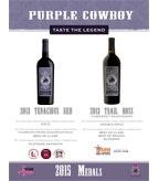 2015 Purple Cowboy Medals