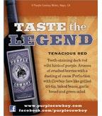 Purple Cowboy Tenacious Red