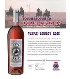 2014 Purple Cowboy Rancher's Rosé, Central Coast, CA