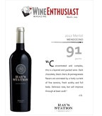 2012 Ray's Station Merlot - Wine Enthusiast