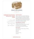 2008 Ray's Station Cabernet Sauvignon, Mendocino