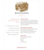 2010 Ray's Station Chardonnay, Mendocino