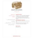 2009 Ray's Station Merlot, North Coast