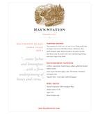 2011 Ray's Station Sauvignon Blanc, North Coast