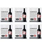 2015 Sabotage Cabernet Sauvignon 6-up