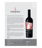 2015 Sabotage Cabernet Sauvignon, Napa Valley