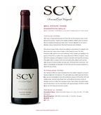 2011 SCV Pinot Noir, Freestone Hills