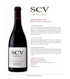 2012 SCV Pinot Noir, Koos Family Vineyards