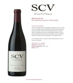 2012 SCV Syrah, Occidental Road Vineyards