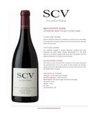 2013 SCV Pinot Noir, Antonio Mountain Vineyard