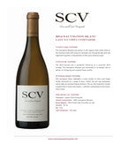 2014 SCV Sauvignon Blanc, Laguna Vista Vineyards