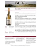 2011 SCV Sauvignon Blanc, Laguna Vista Vineyards