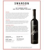 2011 Swanson Cabernet Sauvignon, Alexis, Napa Valley