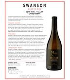 2014 Swanson Chardonnay, Napa Valley