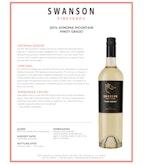 2014 Swanson Pinot Grigio, Sonoma Mountain