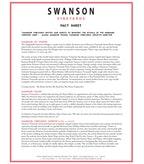 Swanson Fact Sheet
