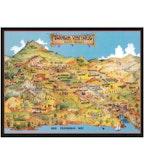 Swanson Napa Valley Map