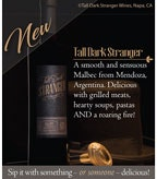 Tall Dark Stranger Shelf Talker Single
