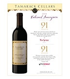 2014 Cabernet Sauvignon (91 Points), Columbia Valley