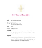 2017 Tamarack Rose of Mourvedre, Columbia Valley