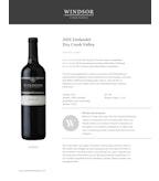 2015 Windsor Vineyards Zinfandel, Platinum Series, Dry Creek Valley