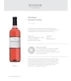 2016 Windsor Vineyards Rose, North Coast